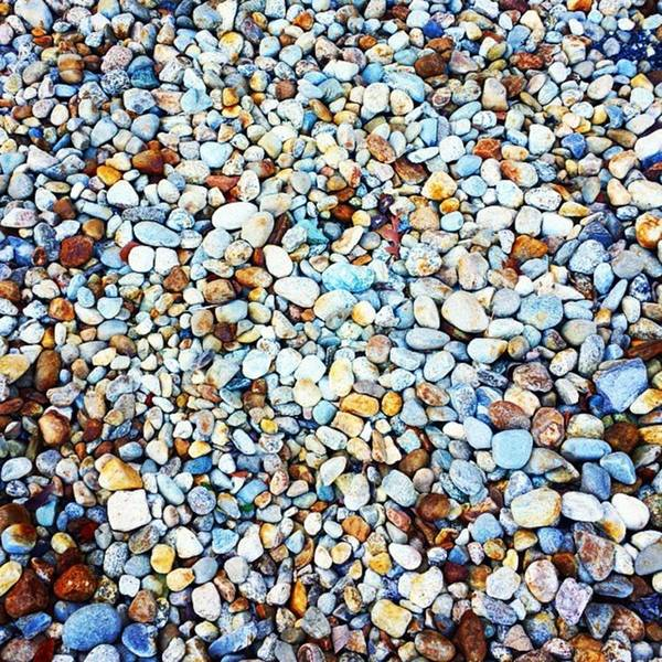 Photograph - I Found A Great Pile Of #rocks Behind A by Tricia Elliott
