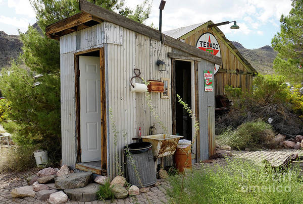 Outside Toilet Photograph - I Found The Outhouse by Nina Prommer