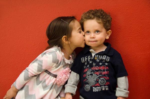 Photograph - I Give You A Kiss by Irina Archangelskaya