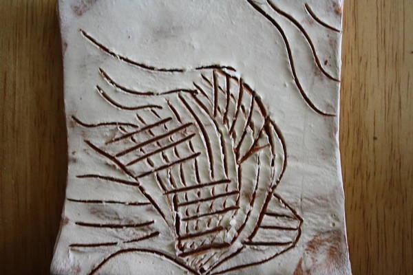 Ceramic Art - I Have A Dream - Tile by Gloria Ssali