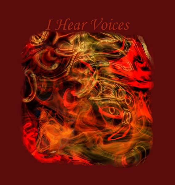 Photograph - I Hear Voices by John M Bailey