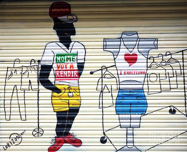 Photograph - I Heart Barcelona by John Rizzuto