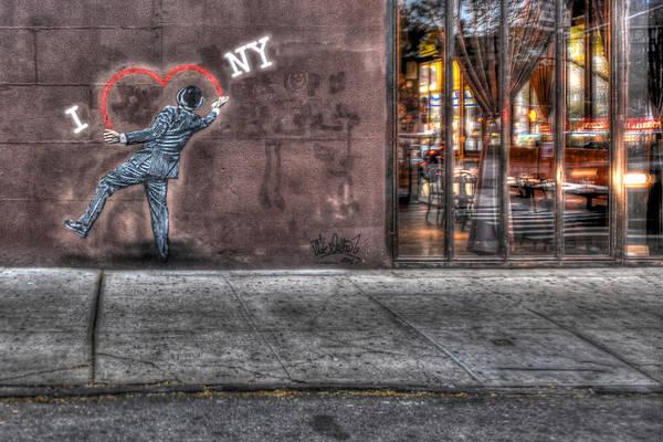 Wall Art - Photograph - I Heart Ny Street Art 2 by Randy Aveille