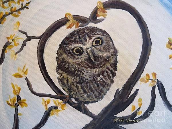Similar Painting - I Heart You by Kimberlee Baxter