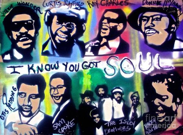 The Blues Brothers Painting - I Know You Got Soul by Tony B Conscious