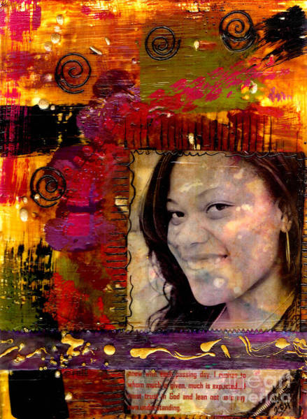 Wall Art - Mixed Media - I Like Colors   What About You by Angela L Walker