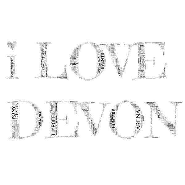 Digital Art - I Love Devon by Alice Gipson