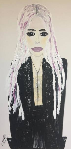 Ballpoint Pen Painting - I Love Fashion  by Jamie Lawrence