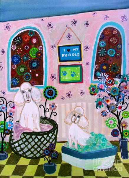 Painting - Bathtime by Pristine Cartera Turkus
