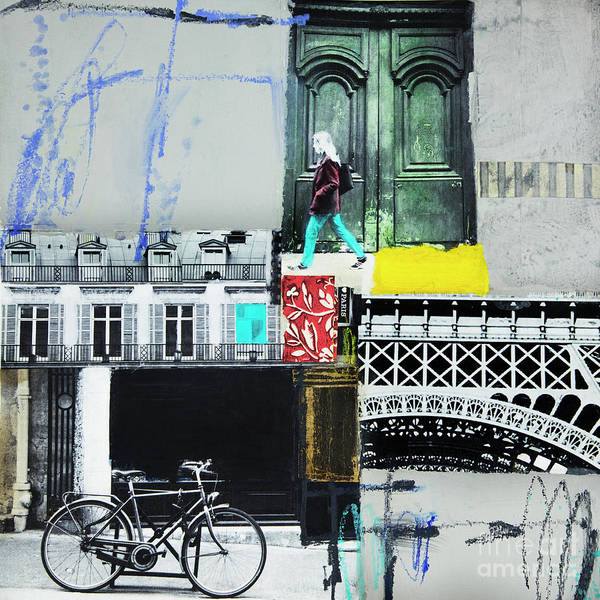 Mixed Media - I Love Paris by Elena Nosyreva