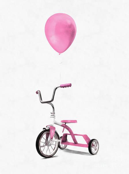 Wall Art - Digital Art - I Love Pink by Edward Fielding