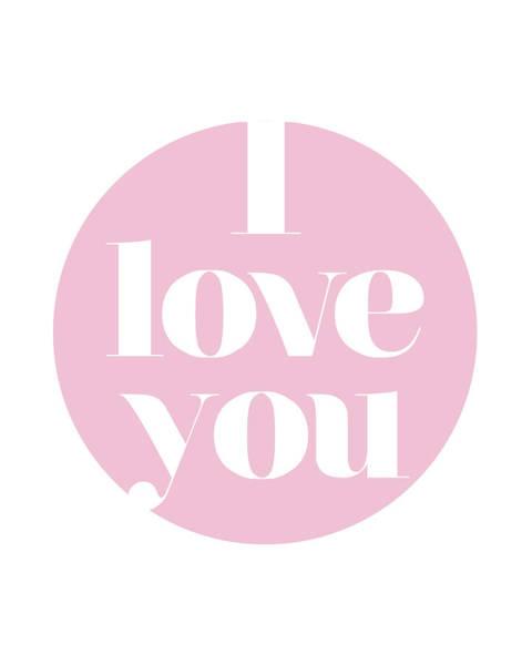 Love You Mixed Media - I Love You by Studio Grafiikka