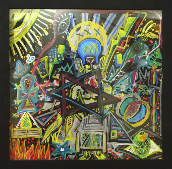 Painting - I M H O O O T E P by Rufus J Jhonson