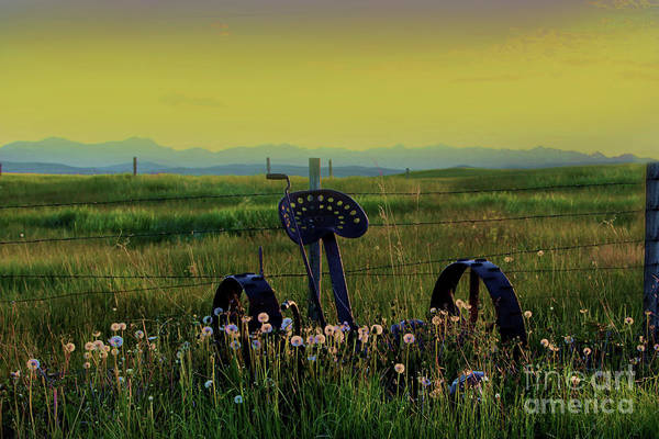 Hay Rake Photograph - I Miss The Rockies II by Al Bourassa