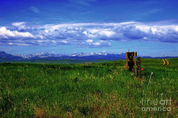 Hay Rake Photograph - I Miss The Rockies IIi by Al Bourassa