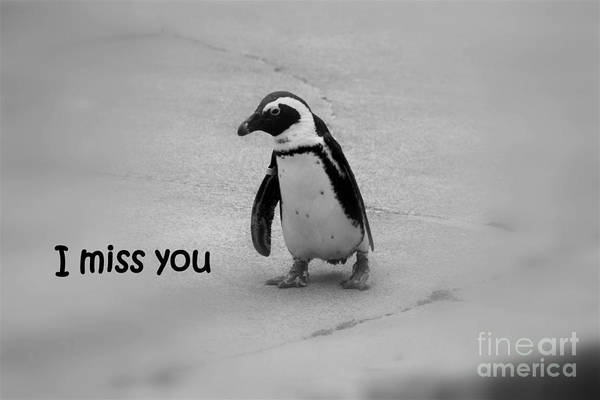 Miss You Photograph - I Miss You by Patti Whitten