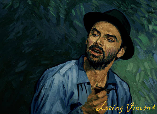 Vincent Van Gogh Painting - I Never Got To Speak A Word With Her by Tetiana Ocheredko