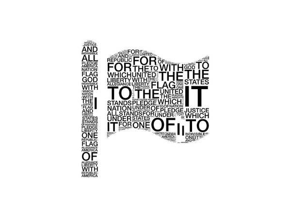 Digital Art - I Pledge by Alice Gipson