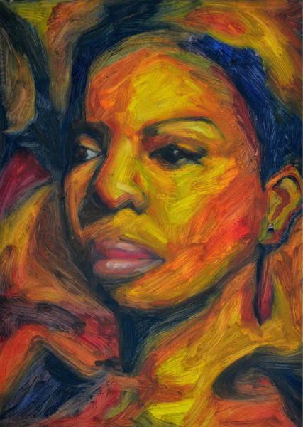 Nina Simone Wall Art - Painting - I Put A Spell On You - Nina Simone by Khairzul MG