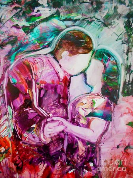 Painting - I Remember The First Dance by Deborah Nell