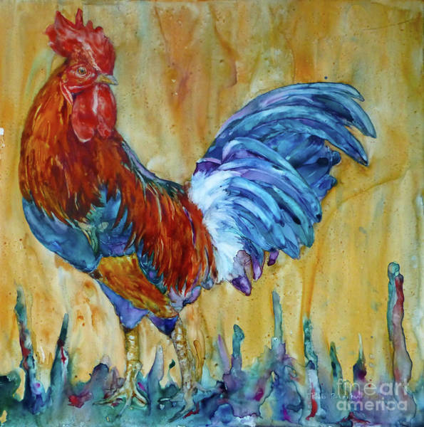 Painting - I Rule The Roost by Paula Robertson