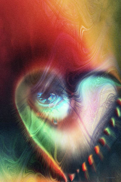 Wall Art - Digital Art - I Saw The Light by Linda Sannuti