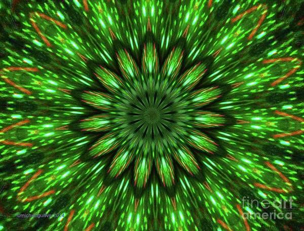 Wall Art - Digital Art - I See Green by Michael Wayne Gulliver