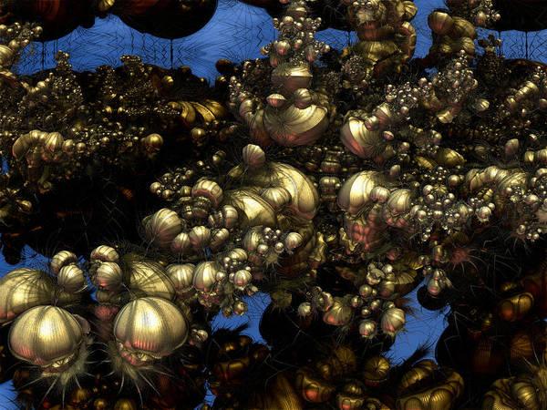 Digital Art - I See Skulls by Jeff Iverson