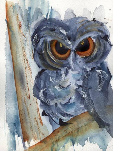 Painting - I See You by Dawn Derman