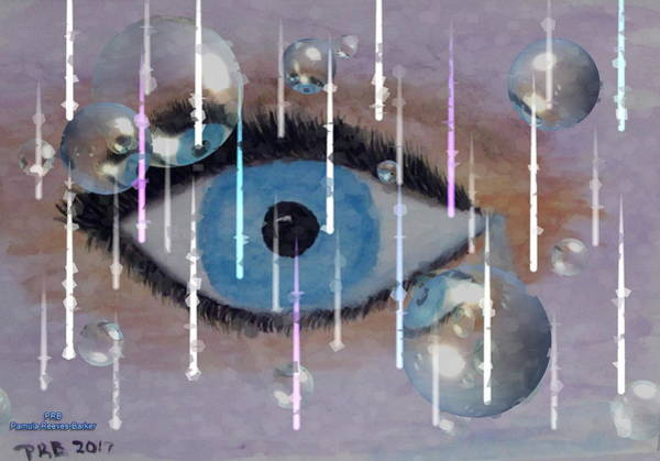Prb Mixed Media - I See You by Pamula Reeves-Barker
