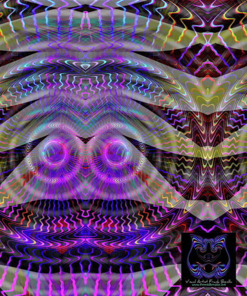 Digital Art - I See You by Visual Artist Frank Bonilla
