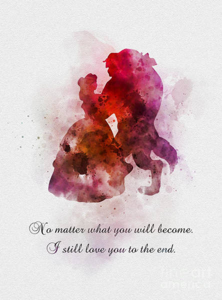 Wall Art - Mixed Media - I Still Love You To The End by My Inspiration