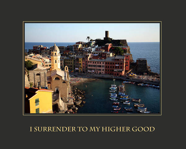 Photograph - I Surrender To My Higher Good by Donna Corless
