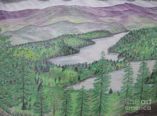Drawing - I Suspect More Rain by Stella Sherman