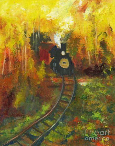 Wall Art - Painting - I Think I Can by Gloria Condon