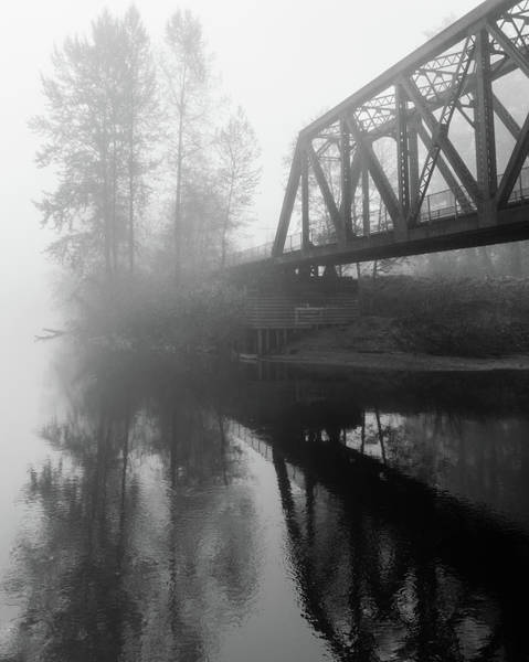 Trestle Photograph - I Tried To Catch The Fog But I Mist by Bridget Calip
