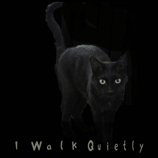 Digital Art - I Walk Quietly by April Burton