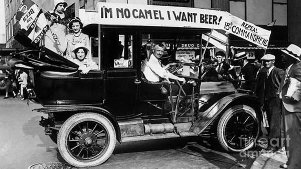 Cops Photograph - I Want Beer by Jon Neidert