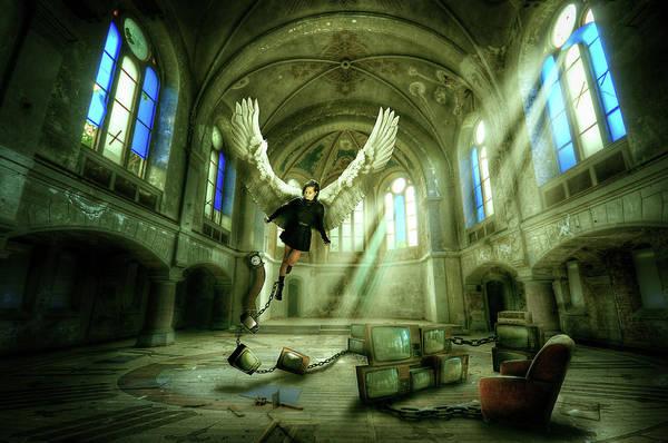 Wall Art - Digital Art - I Want To Brake Free by Nathan Wright