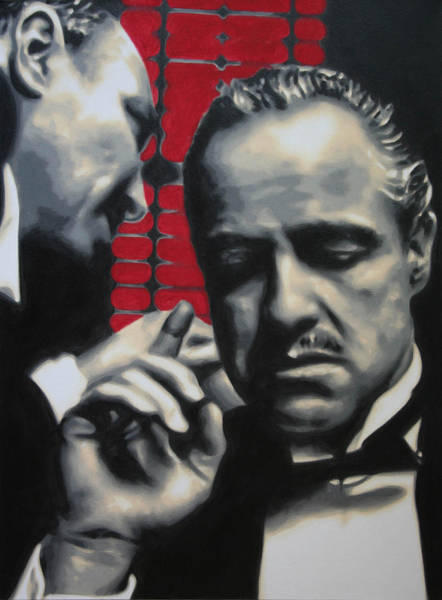 1969 Painting - I Want You To Kill Him 2013 by Luis Ludzska