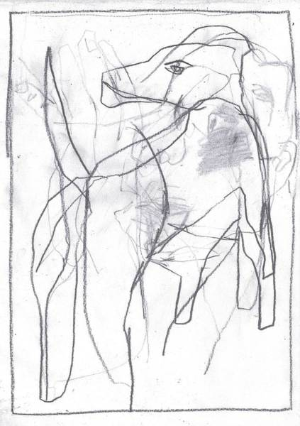 Drawing - I Was Born In A Mine 10 by Artist Dot