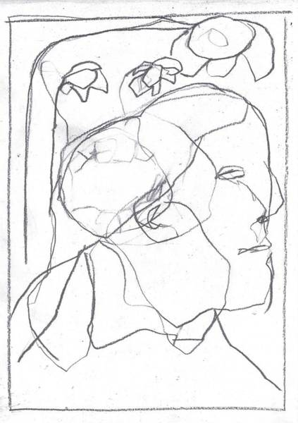 Drawing - I Was Born In A Mine 11 by Artist Dot
