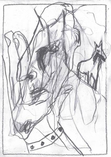 Drawing - I Was Born In A Mine 9 by Artist Dot