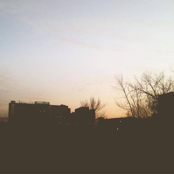 Wall Art - Photograph - City Sunset by Maria Meeds
