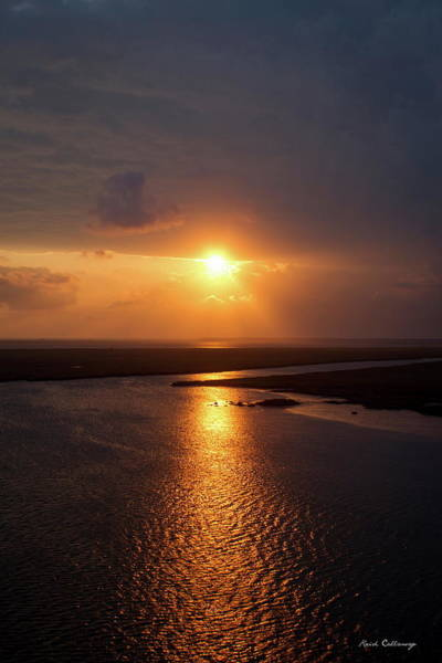 Photograph - I Will Be Back Jekyll Island Sunset Art  by Reid Callaway