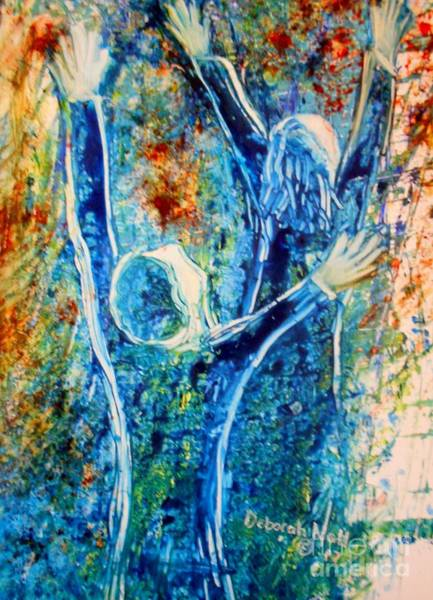 Painting - I Will Praise You In The Storm by Deborah Nell
