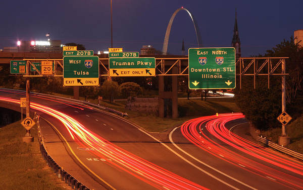 Photograph - I44 And I55 Interchange by Garry McMichael