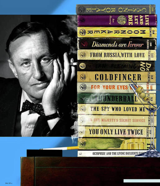 From Russia With Love Wall Art - Photograph - Ian Fleming, All Originals, 14 Novels Collection, James Bond by Thomas Pollart
