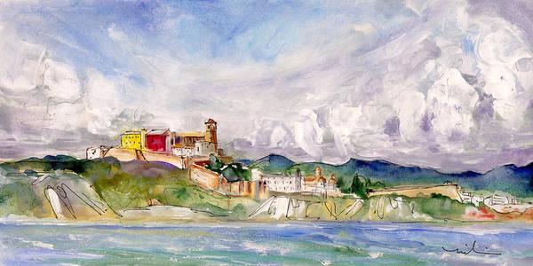 Painting - Ibiza Panoramic 02 by Miki De Goodaboom