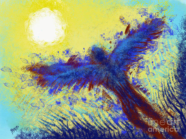 Wall Art - Digital Art - Icarus by Antonio Romero
